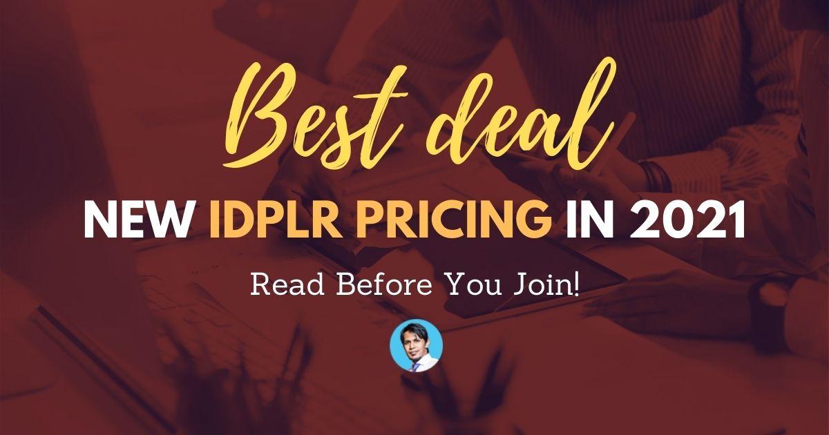 new-idplr-pricing