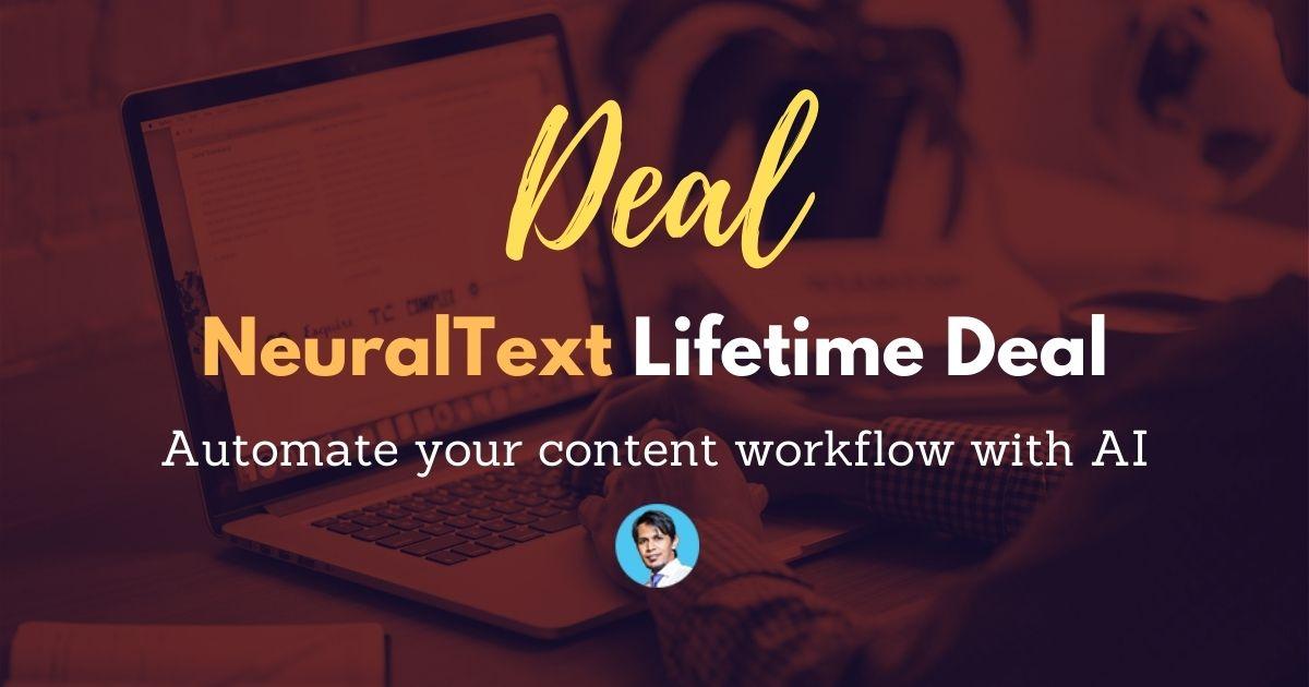 NeuralText-Lifetime-Deal-Image