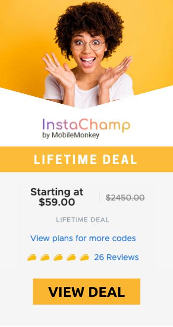 InstaChamp-appsumo-lifetime-deal-banner