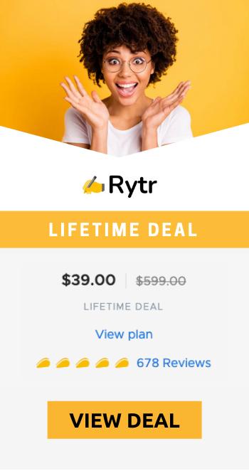 rytr-appsumo-deal